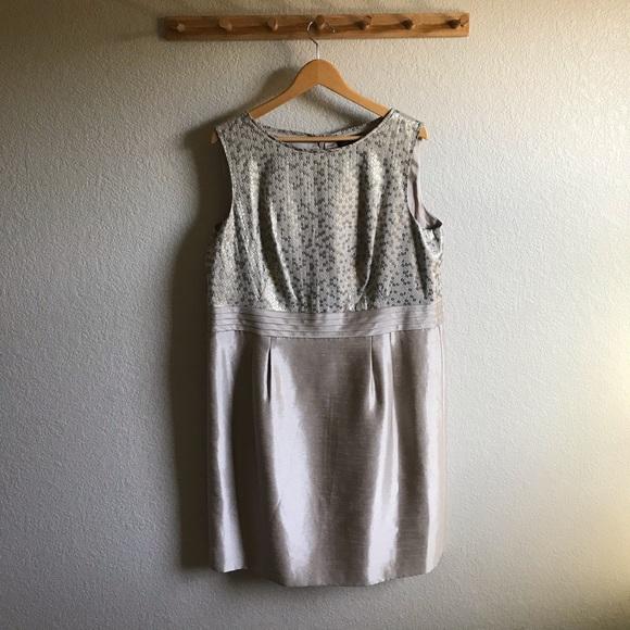 Tahari Dresses & Skirts - Gold Dress